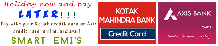 EMI Options to buy kerala tourpackages